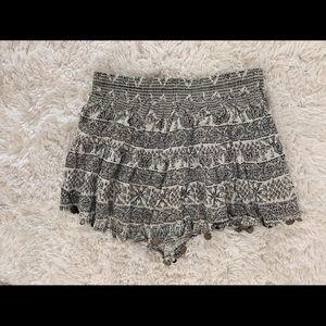 Millau tribal print shorts